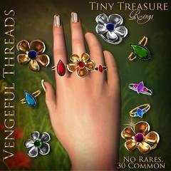 Vengeful Threads - Gacha- Tiny Treasure Ring _Ad
