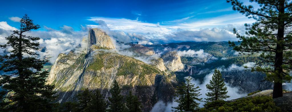 Washburn point, Yosemite National Park, United States picture