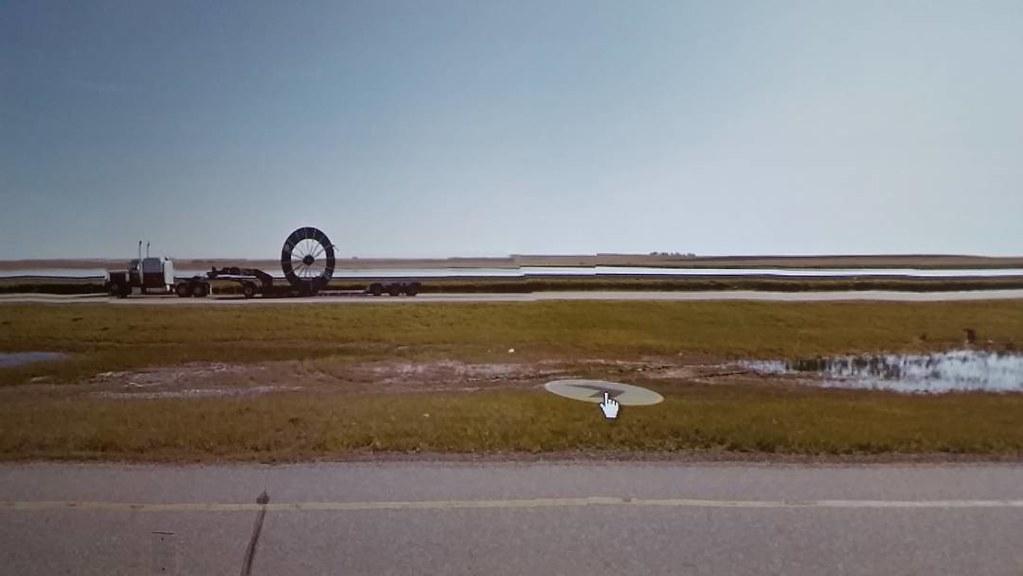 This. #ridingthroughwalls #xcanadabikeride #googlestreetview #Saskatchewan