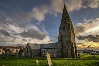 Cornwall, CUBERT, Cubert Church (c John Blakeston)