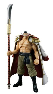 撼動世界的男人!VARIABLE ACTION HEROES《航海王》艾德華·紐蓋特「白鬍子」霸氣登場!!