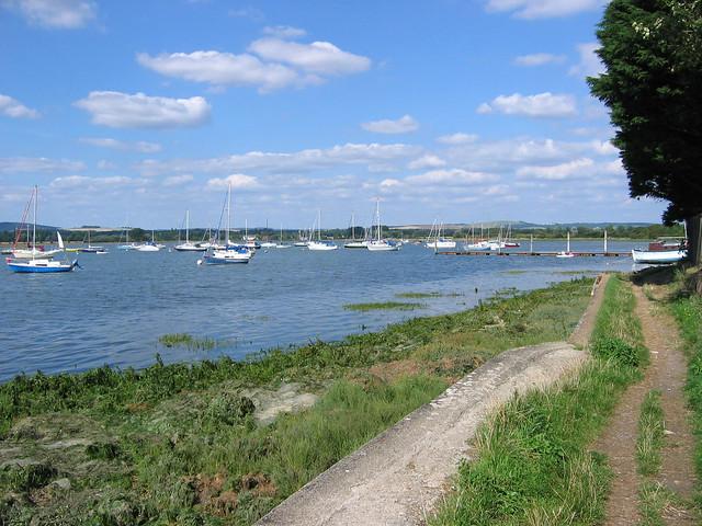 Chichester harbour near Dell Quay