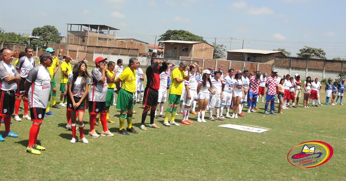 16 goles en el súper máster de futbol en el torneo Humboldt de la Torre Andrade