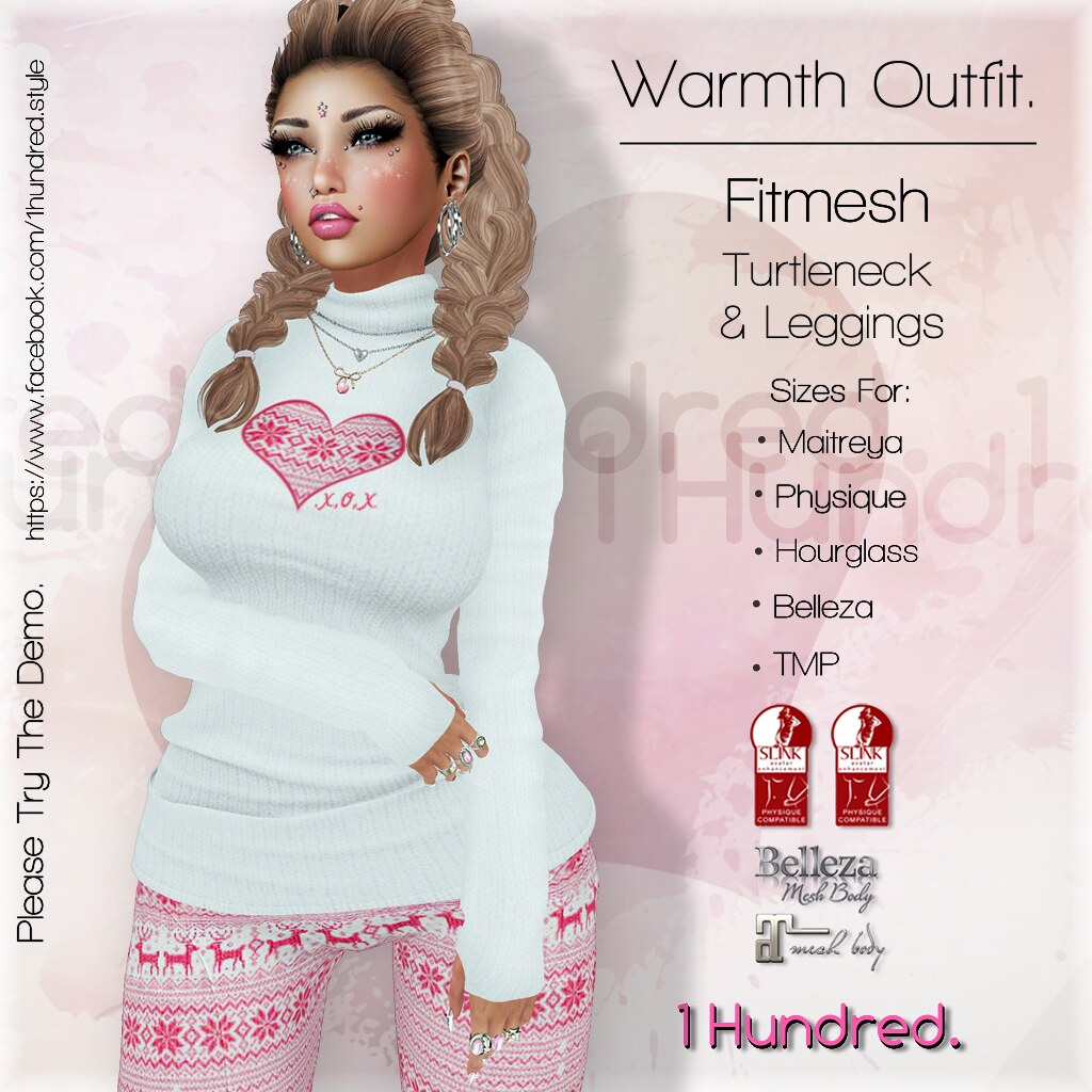 1 Hundred. Warmth Outfit AD [1024] - SecondLifeHub.com