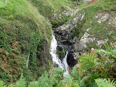 Waterfall at Traeth Penllech