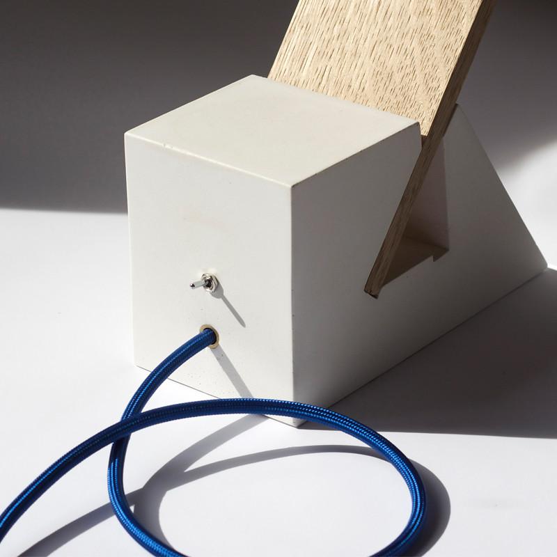 64b91cdd0 WHITE SLEEN Desktop Architects Eco Lamp, designer Antoine Tes-Ted
