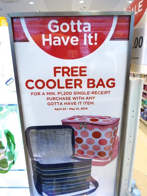 free cooler bag
