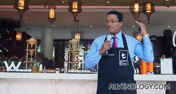 Dilhan Fernando, Director of Marketing at Dilmah, and son of Dilmah founder Merrill J. Fernando