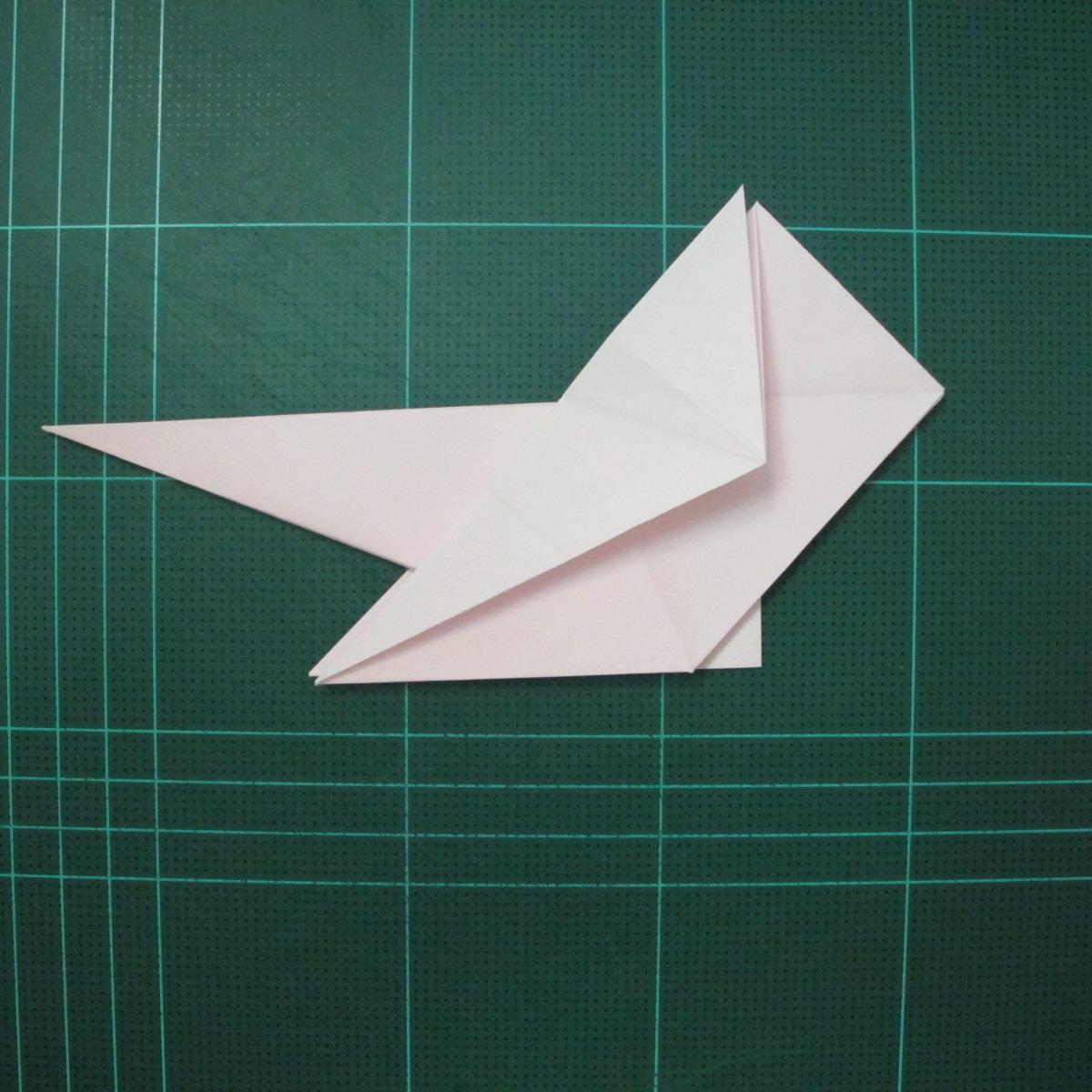 การพับกระดาษเป็นไดโนเสาร์ทีเร็กซ์ (Origami Tyrannosaurus Rex) 017