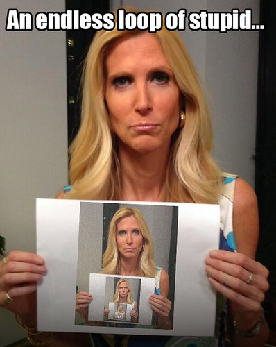 coulter stupid