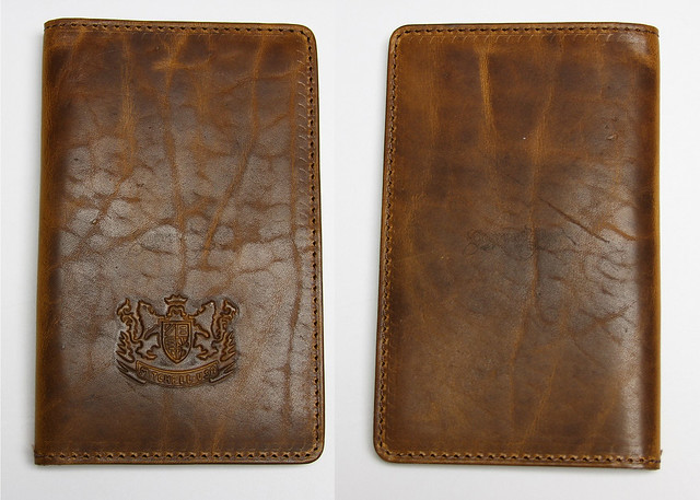 Mitchell Leather Journal Covers - Light Front & Back