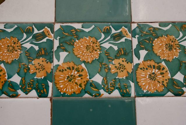 Faience de la Casa Vicens, première réalisation de Gaudi