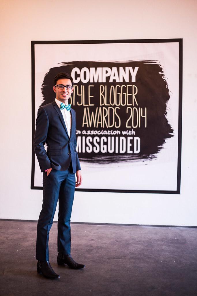Joseph Kent, Company Style Blogger Awards 2014