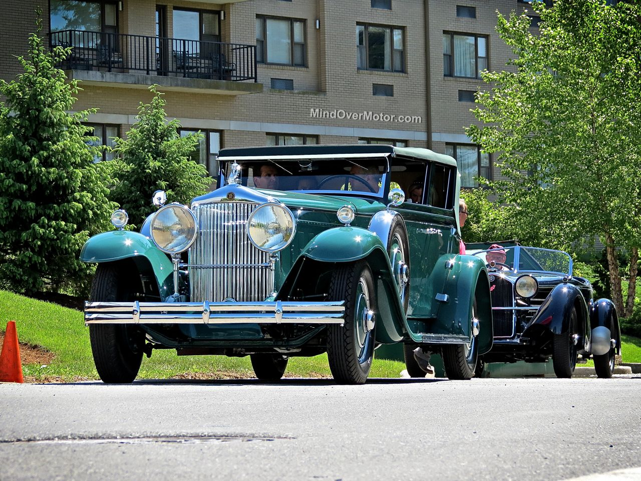 1931 Minerva AL convertible sedan at the Hershey Concours