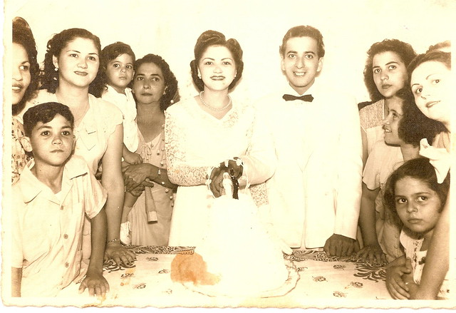 Grandparents' wedding, 1946