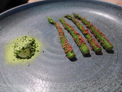 Kadeau Copenhagen green asparagus