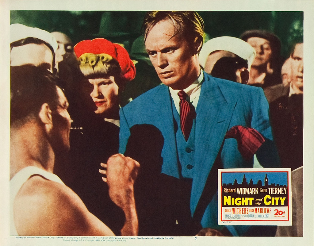Poster - Night and the City (1950)_09