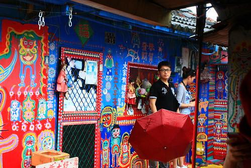 2012 06 09 台中.春安路.彩繪.眷村