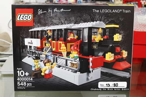 LEGO LIT 2014 Exclusive: 4000014 LEGOLAND Train chiukeung. All Right Reserved