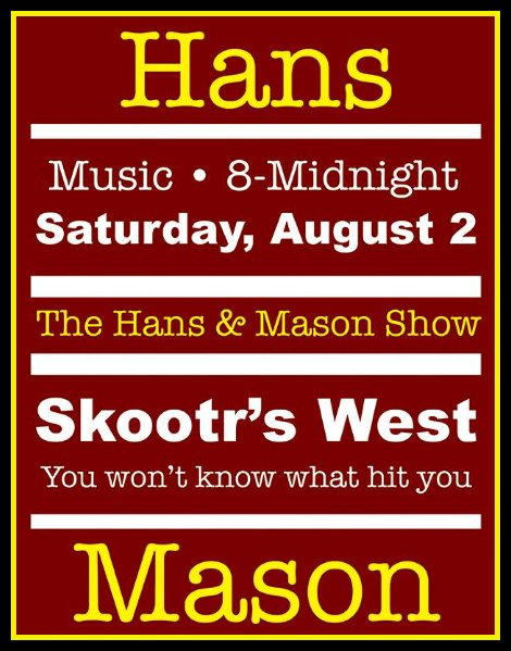 Hans & Mason 8-2-14