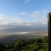 View of Ngorongoro Crater from my room