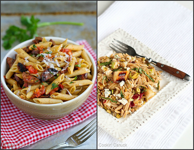 Whole Wheat Pasta Recipes | cookincanuck.com