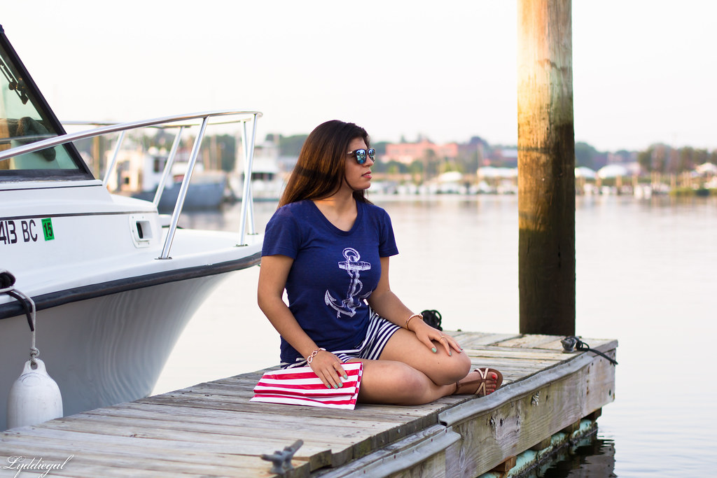 Anchor Tee, Striped Shorts-3.jpg