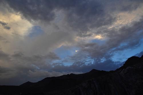 summer sky southwest west rain weather evening texas view desert border scenic elpaso juarez