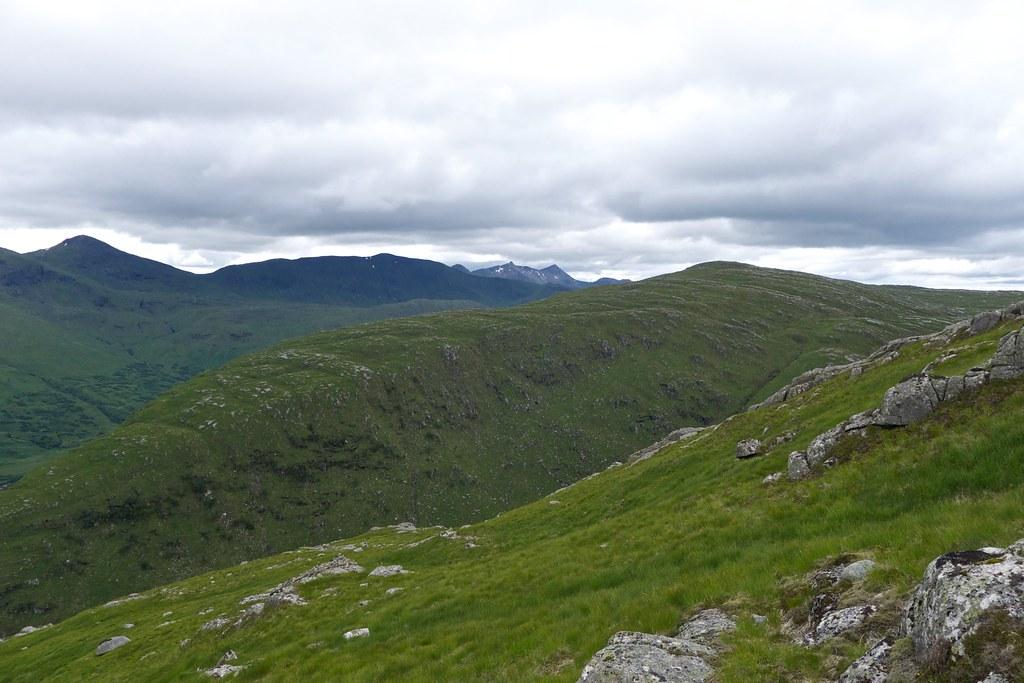 Ben Cruachan beyond Beinn nan Lus