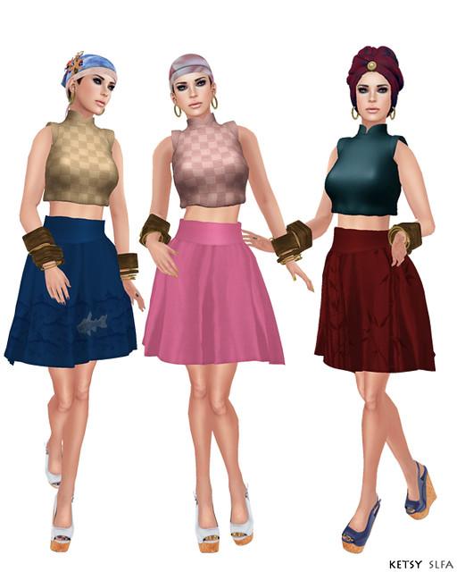 Hair Fair - Bandana Day (New Post @ Second Life Fashion Addict)