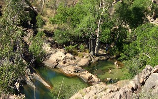 Pools above Gunlom Falls, Kakadu NP, NT