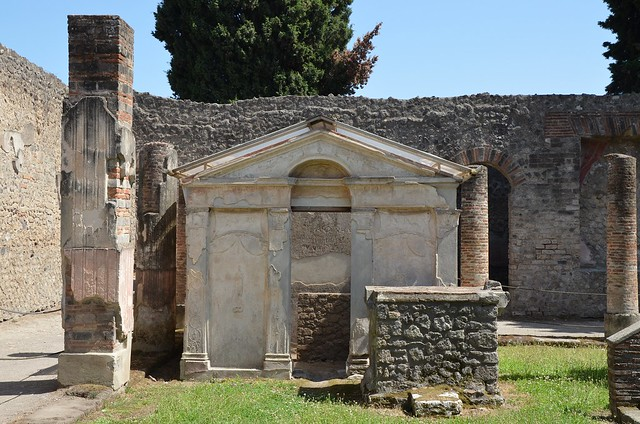 Temple of Isis, the Purgatorium, the place where purification rites were performed, Pompeii