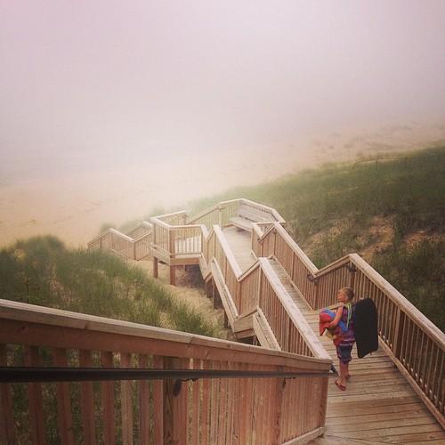 Kouw beach in the clouds. #puremichigan