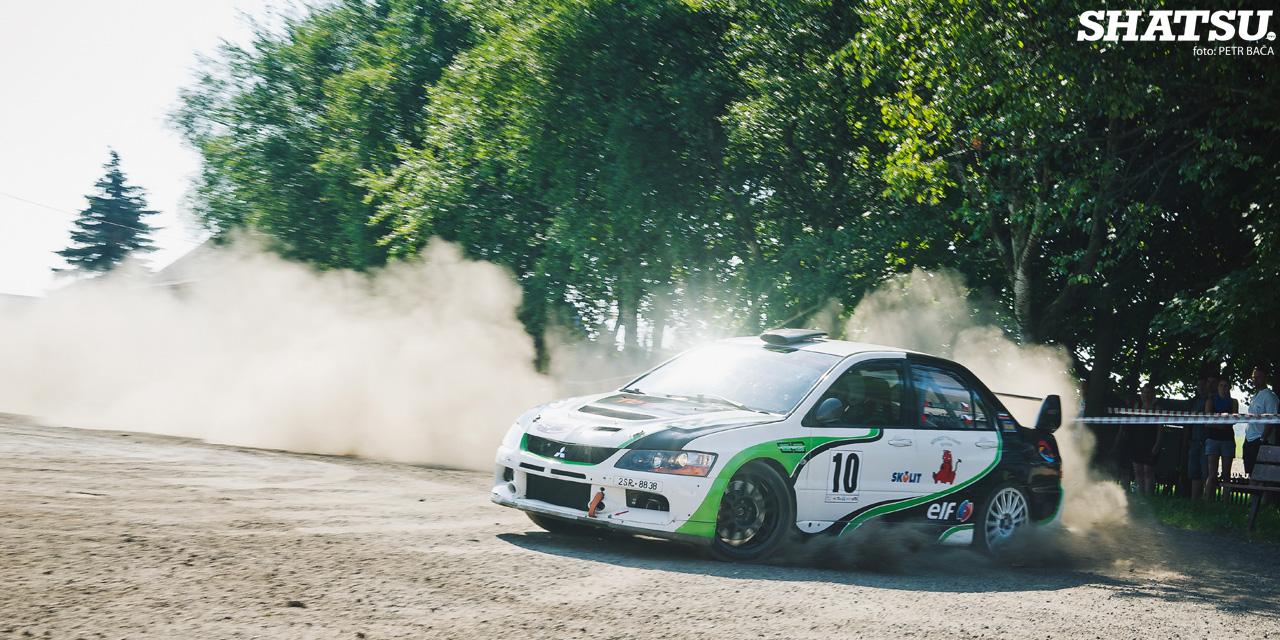 Rally Krušné hory 2014, Litvínov, Mitsubishi Lancer Evo IX, ČMPR,