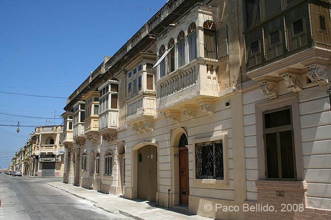 Una calle típica en Paola. © Paco Bellido, 2008