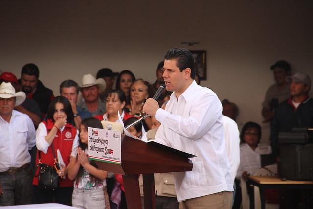 GIRA DE TRABAJO POR LO MUNICIPIO DE FLORENCIA, SANTA MAR�A DE LA PAZ Y TEÚL DE GONZ�LEZ ORTEGA.