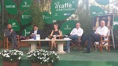 Deborah Bergamini ospite al Caffé della Versiliana