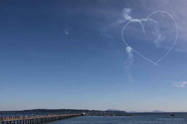 Snowbirds Fly for CH.I.L.D. ~ White Rock, BC
