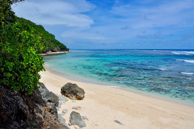 Greenbowl beach, Bali