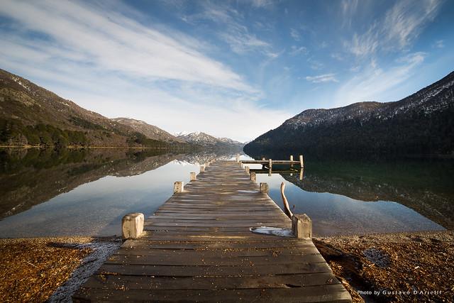 Hermoso Lake, Patagonia Argentina