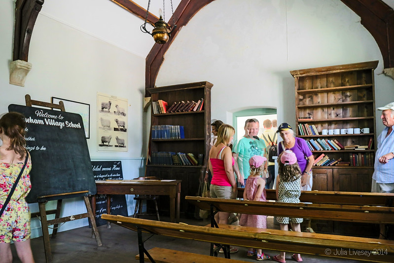 Inside the old Schoolhouse