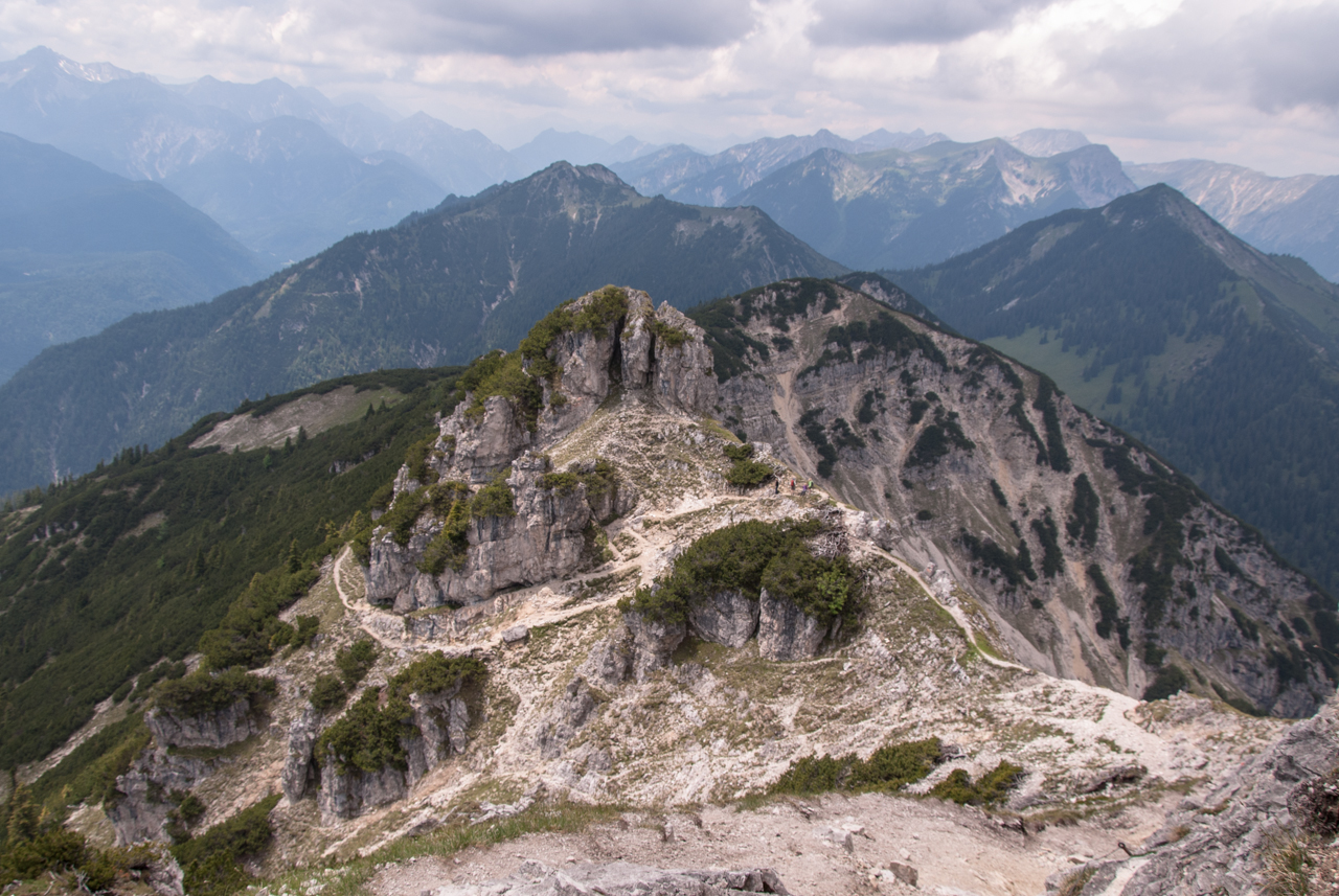 Kramerspitz - Abstieg