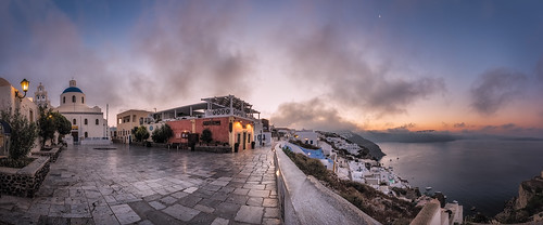 panorama clouds sunrise santorini greece oia egeo leefilters nikond800 lee06gndsoft phottixgeoone nikkor160350mmf40 mpr192nodalslide