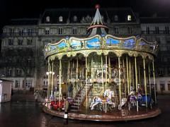 Nighttime carousel