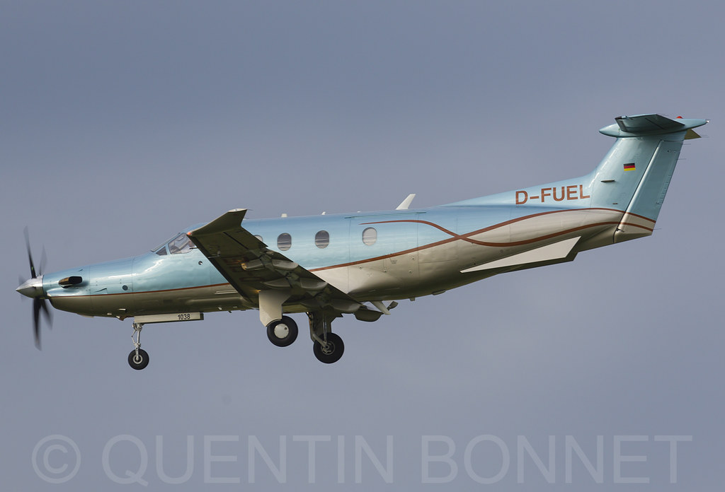 Swiss Business Air Pilatus PC-12/45 D-FUEL