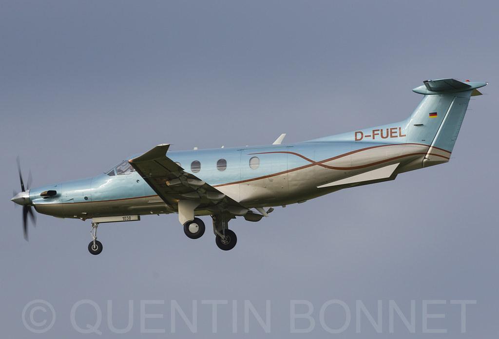 Swiss Business Air Pilatus PC-12/45 D-FUEL