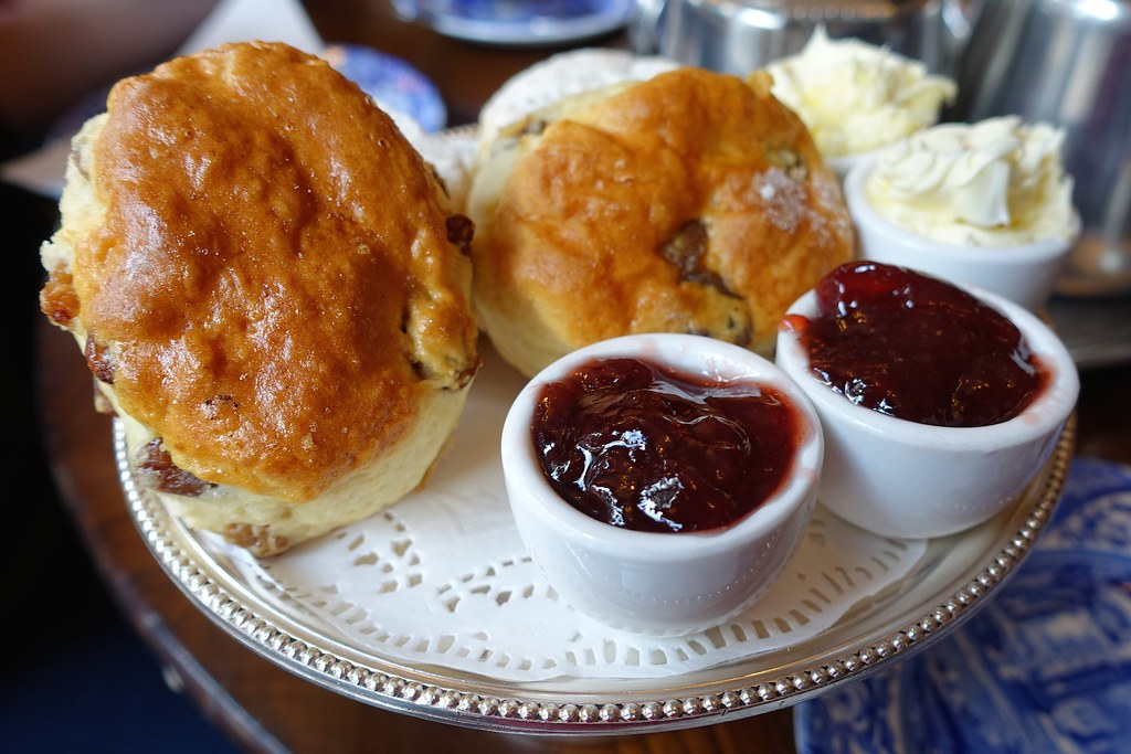 The Original Maids of Honour Cream Tea