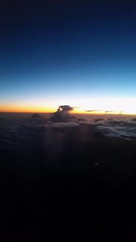 sunset sky window clouds mi flying airport michigan detroit millenniumpark dtw windowseat detroitmetro kdtw
