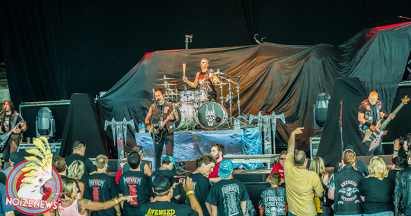 Trivium at Mayhem in Michigan