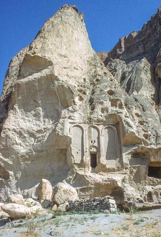 Selime, vallée de Peristrema, Cappadocce